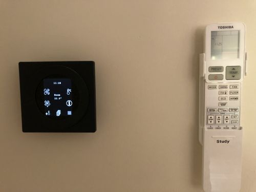 Ventilation and air-con controller